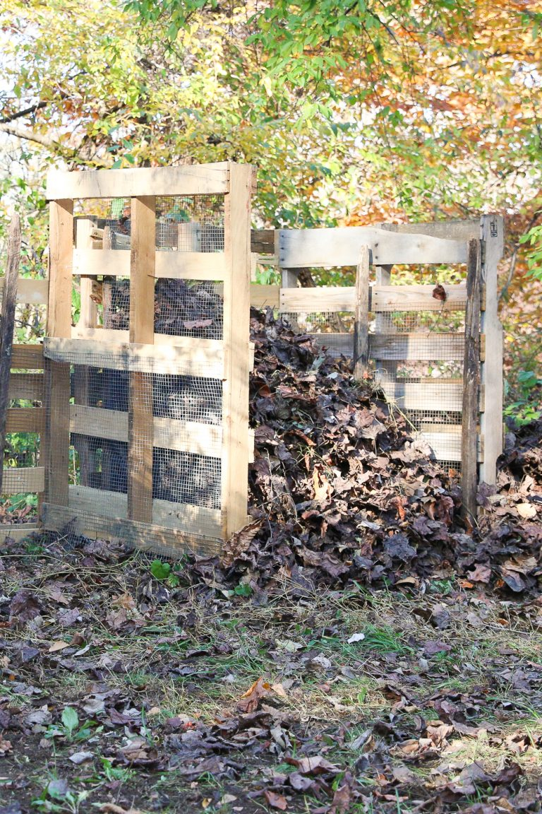 How To Build A Wooden Pallet Compost Bin